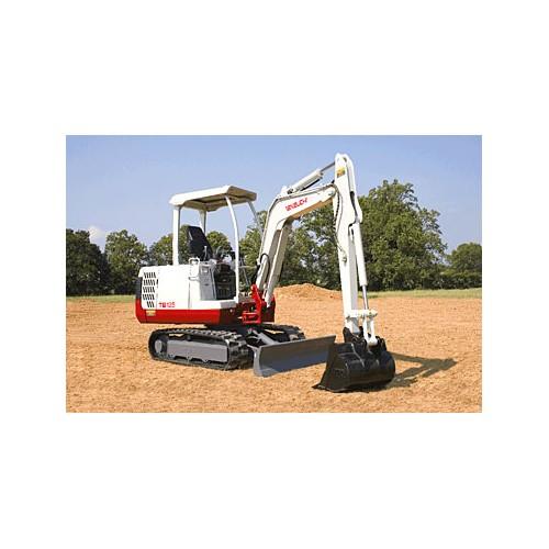 Mini Excavator - 6000 lb