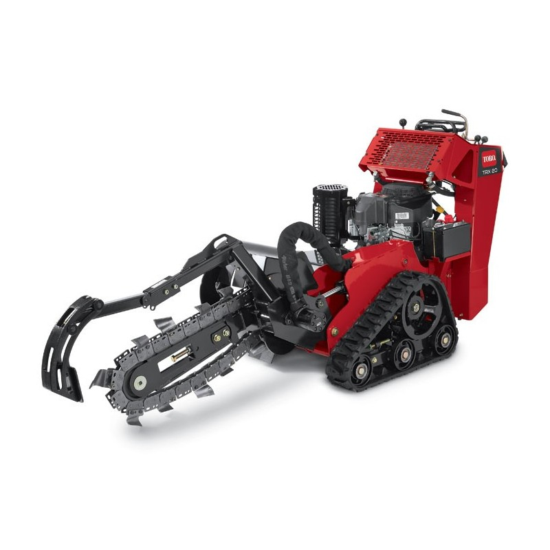 Trencher - Track Drive, Walk-Behind