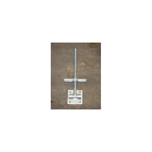 Scaffold Screw Jack w/swivel plate