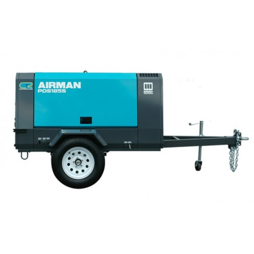 Compressor 185 CFM, Diesel, Towable