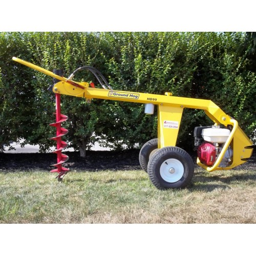 One-man Hydraulic Auger