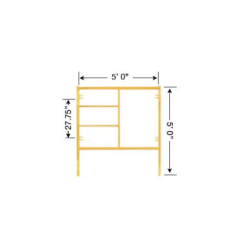 5 x 5 Scaffold Frame