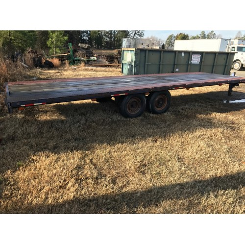 Deck Over Trailer 25'