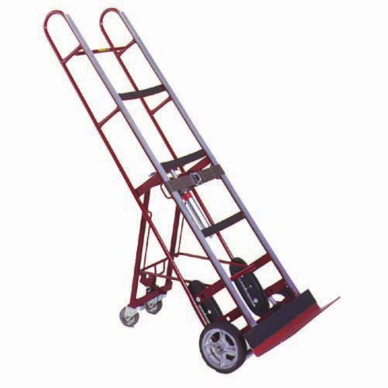 Handtruck w/straps & tilt wheels