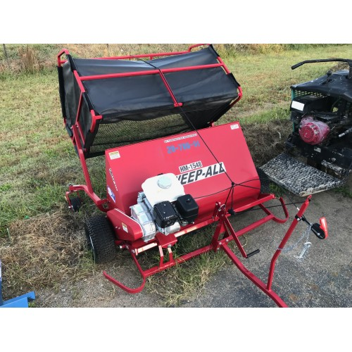 Powered Lawn Sweeper