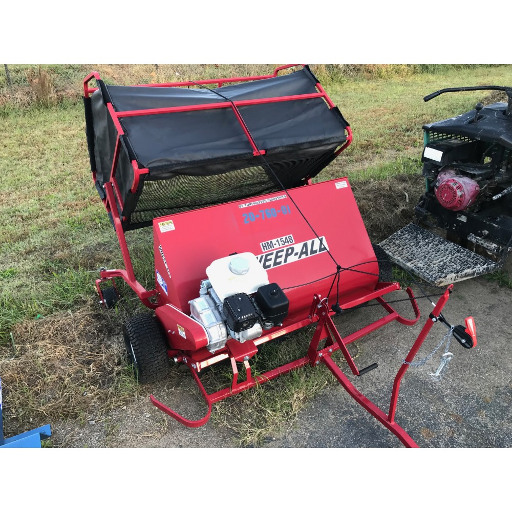 Powered Lawn Sweeper Tool Rental Depot Store
