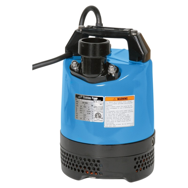 "Submersible Trash Pump - 2"" Electric"
