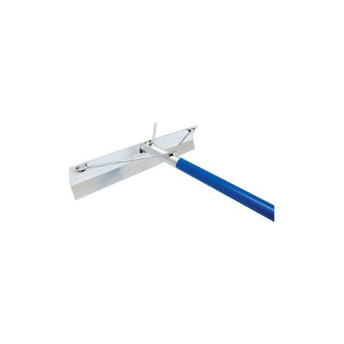Aluminum Concrete Placer With Hook And Welded Handle