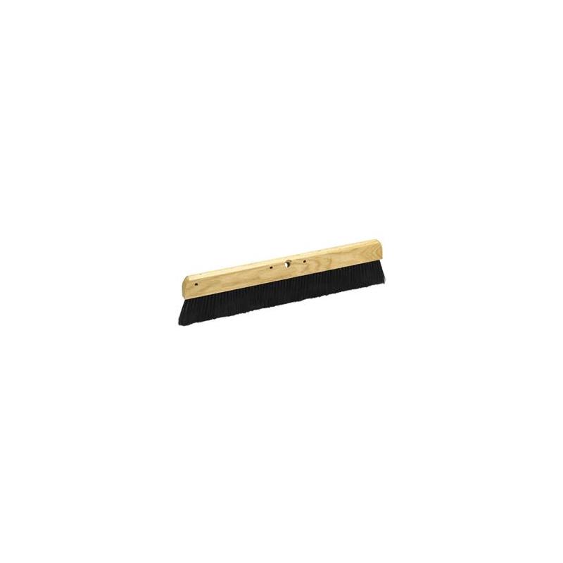 "Concrete Broom 36"" Wood Block"