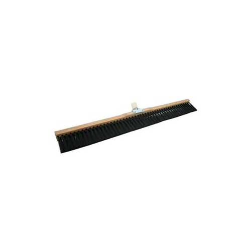 "Concrete Broom 24"" Wood Block"